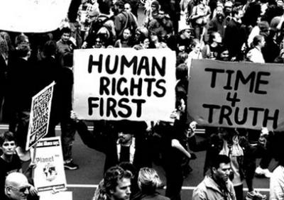 Protest For Human Rights During The 1960s